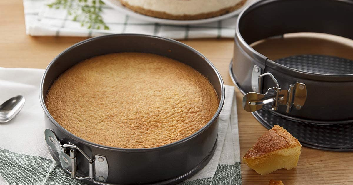 Make Perfect Pie, Quiche & Cheesecake With These Springform Pans That Will Not Stick