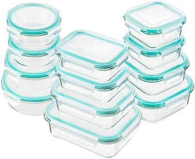 Bayco Glass Food Storage Containers (Set Of 12)