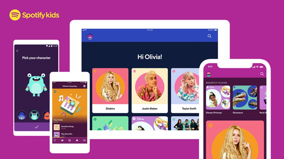 Spotify Kids is now available for families during this time of social distancing.