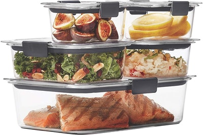 Rubbermaid Brilliance Food Storage Containers (Set Of 5)