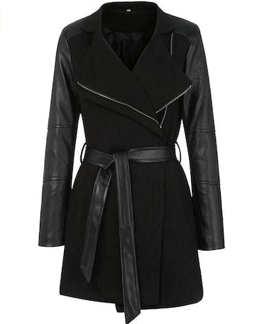 LISTHA Long Leather Coat