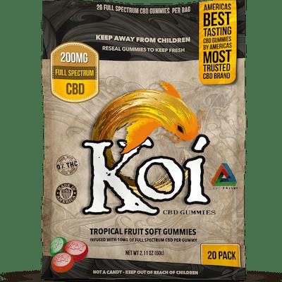 Koi Hemp Extract CBD Gummies (20 Gummies)