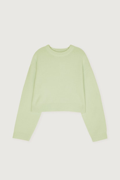 Cropped Sweater 4523