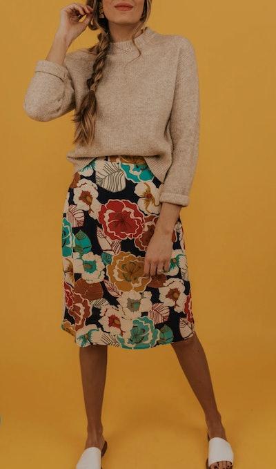 Bess Floral Skirt