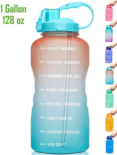 Venture Pal Water Bottle With Motivational Time Marker