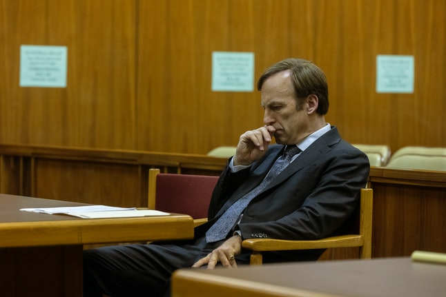 Bob Odenkirk as Jimmy McGill in Better Call Saul