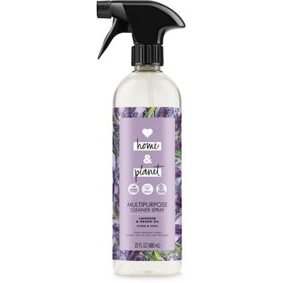 Love, Home & Planet Multipurpose Cleaner Spray, Lavendar & Argan OIl