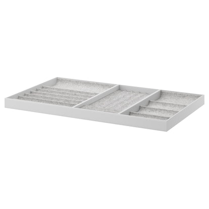 KOMPLEMENT Insert For Pull-Out Tray, Light Gray, 39 3/8x22 7/8