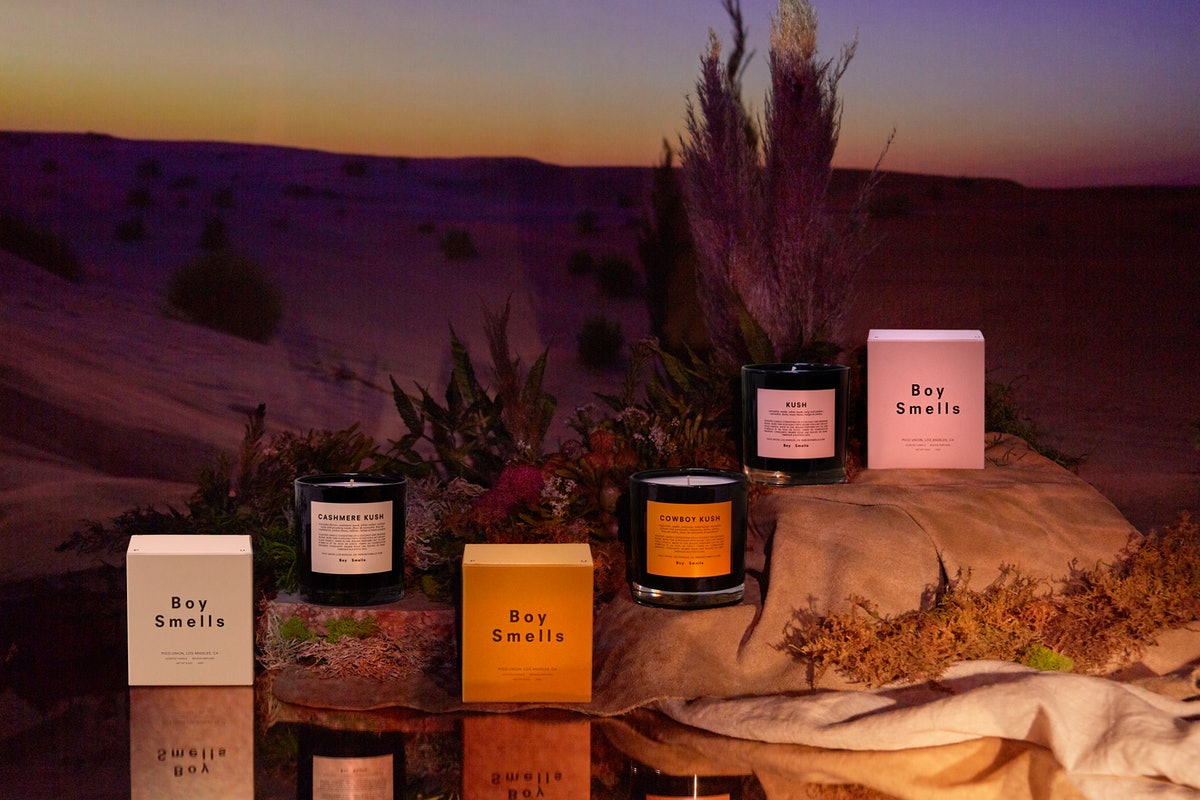 Boy Smells' new 420 candle collection