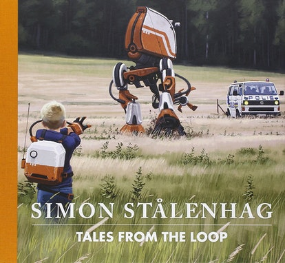 'Tales from the Loop' English book cover