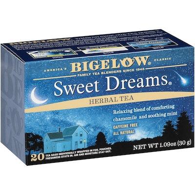 Bigelow Sweet Dreams Herbal Tea (6 Boxes)