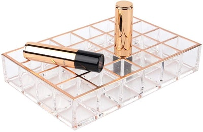 Lipstick & Lip Gloss Beauty Makeup Organizer