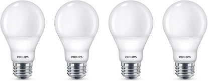 Philips LED Dimmable Light Bulb (4-Pack)