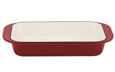 Cuisinart Chef's Classic Enameled Cast Iron Roasting/Lasagna Pan (18 by 10.3 by 3 inches)