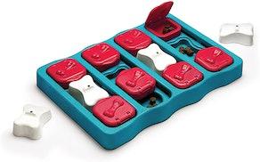 Outward Hound Ottosson Puzzle Brick Dog Toy