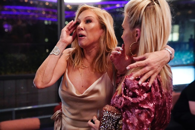 Ramona Singer & Tinsley Mortimer in Season 12 of RHONY.