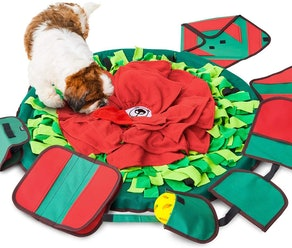SNiFFiz SmellyMatty Snuffle Mat For Dogs With 5 Treat Puzzles