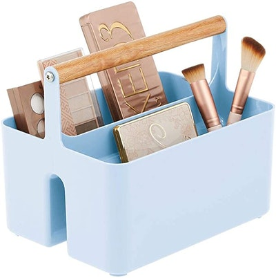 Plastic Makeup Storage Caddy Tote
