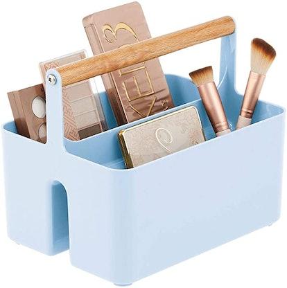 Plastic Makeup Storage Caddy Tote
