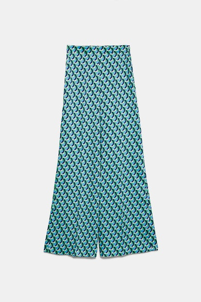Geometric Print Pants