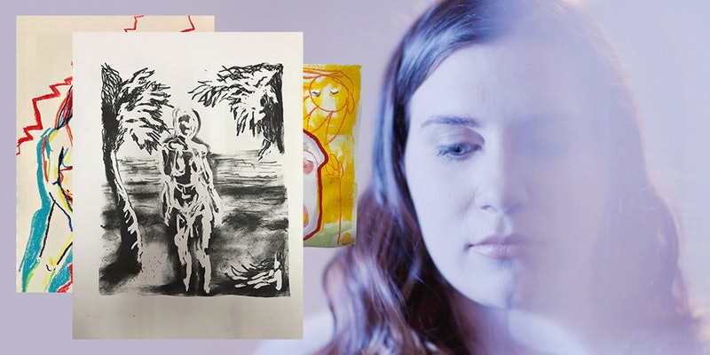 In Diagnosis Diaries, one woman uses art to manage her depression