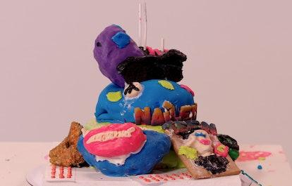 Nailed It! cake