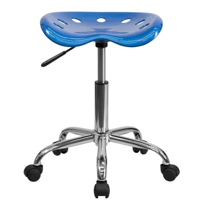 Flash Furniture Tractor Seat and Chrome Stool