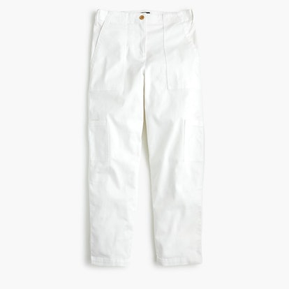 Straight-Leg Cargo Pant In Stretch Chino