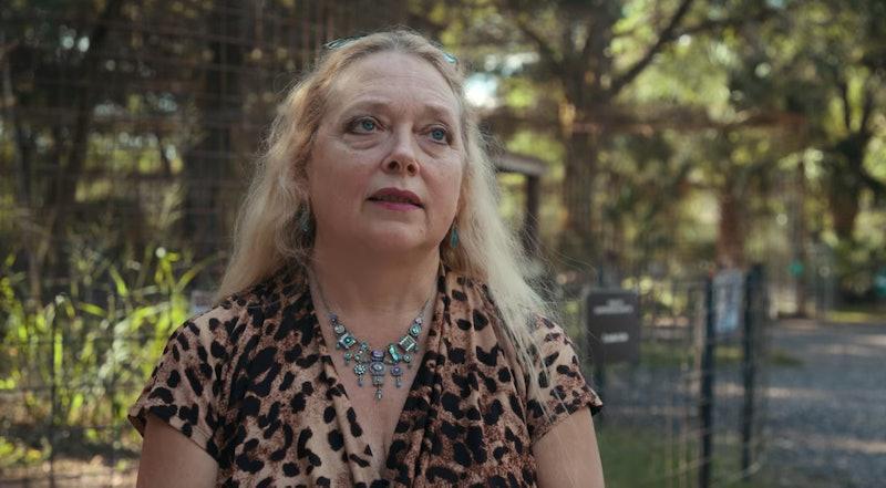 Carole Baskin in Netflix's 'Tiger King'
