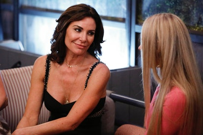 Luann DeLesseps and Leah McSweeney in RHONY Season 12.