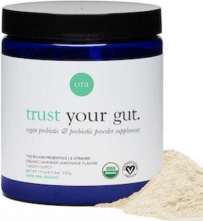 Ora trust your gut prebiotic & probiotic powder supplement (7.9 oz.)