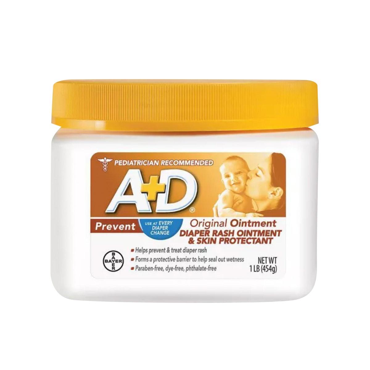 A+D Original Diaper Rash Ointment — 16 Oz.