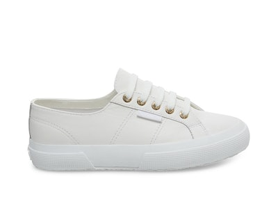 2750 Nappaleau White-Gold Leather