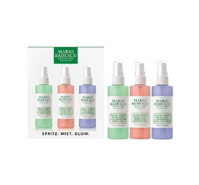 Mario Badescu Spritz, Mist, and Glow Facial Sprays (Set of 3)