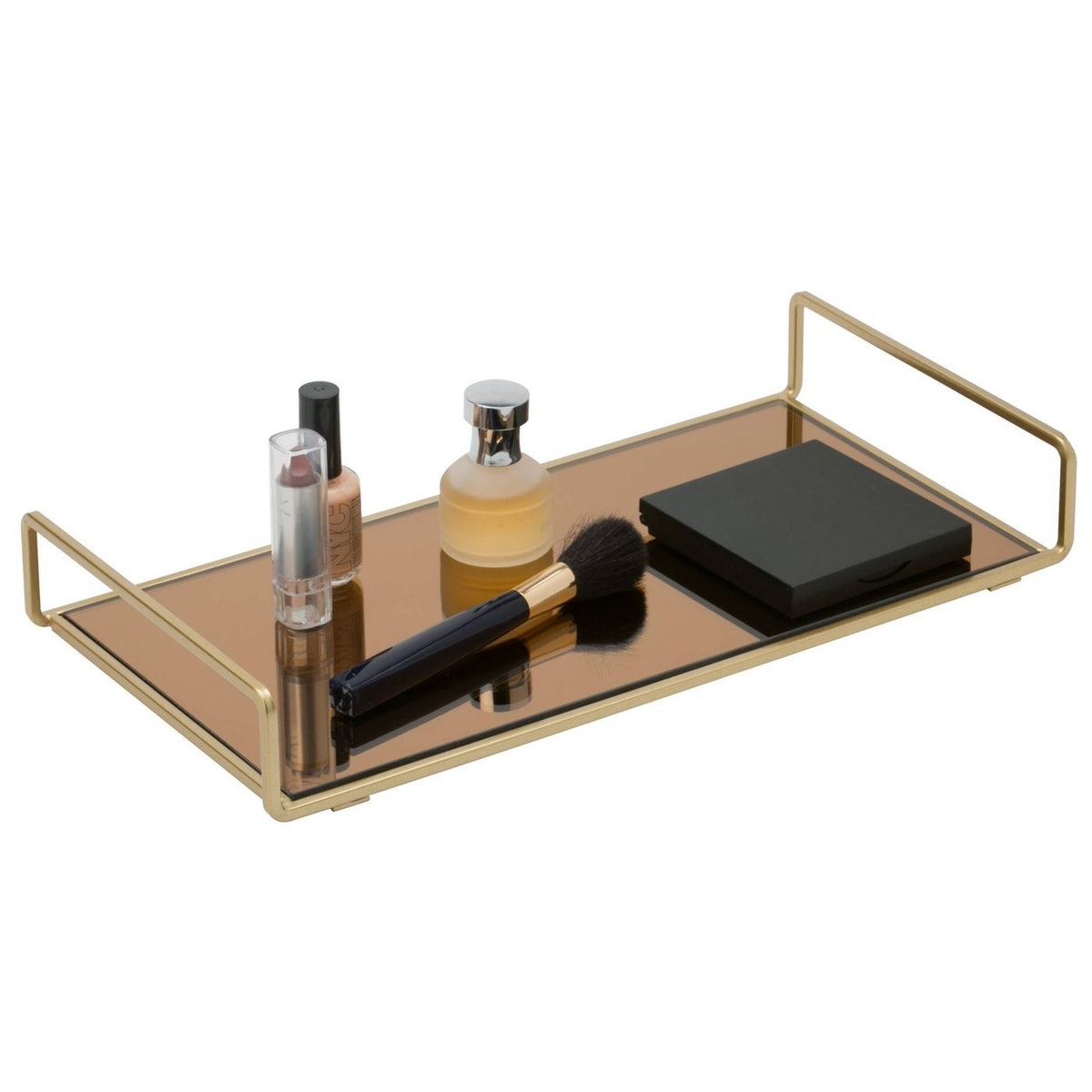 Bathroom Tray in Gold