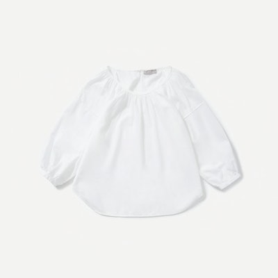 The Ruched Air Blouse