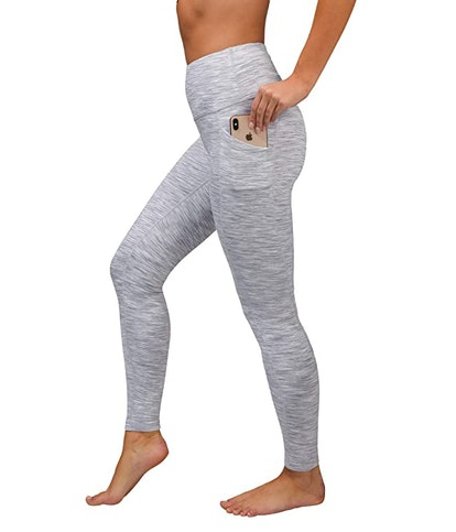 90 Degree By Reflex High Waist Fleece-Lined Leggings