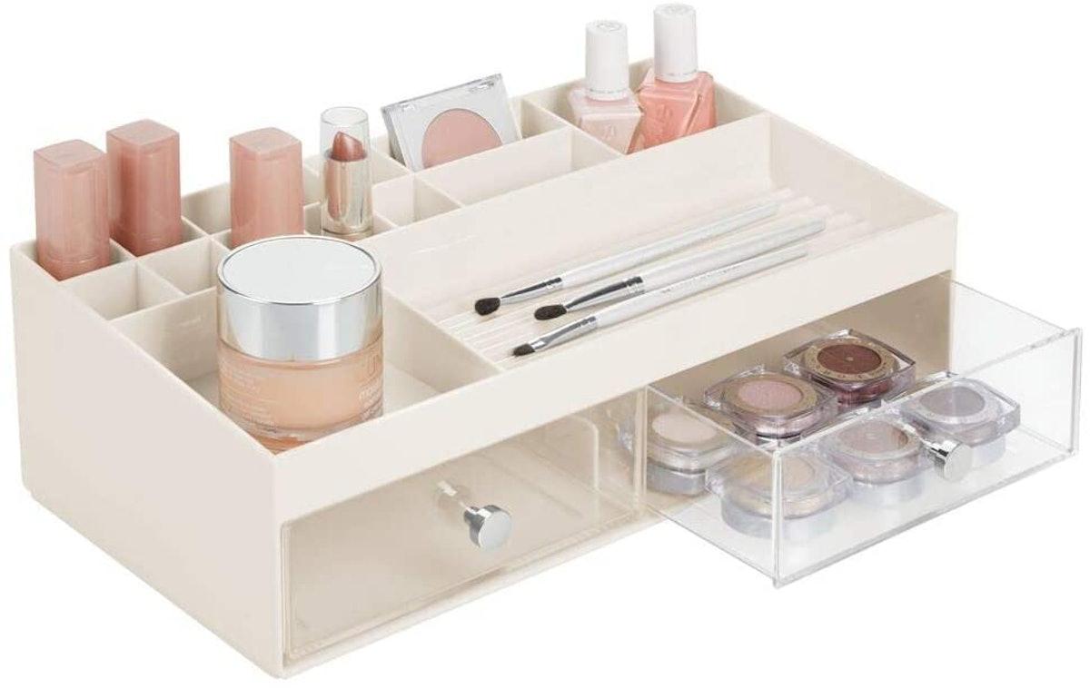 Plastic Makeup Storage Caddy Box