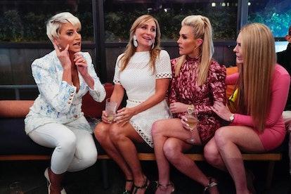 Dorinda Medley, Sonja Morgan, Tinsley Mortiner, and Leah McSweeney in RHONY Season 12