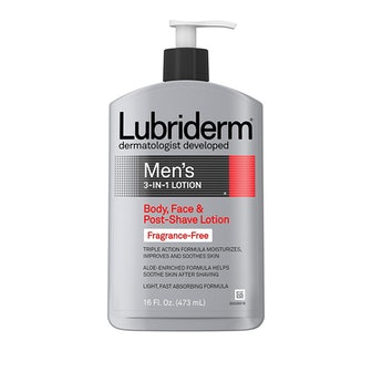 Lubriderm Men's 3-In-1 Unscented Lotion