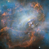 Scientists uncover chemical mystery behind unique Crab Nebula supernova
