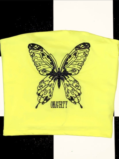 Butterfly Omighty Tube Top