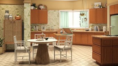 Golden Girls kitchen