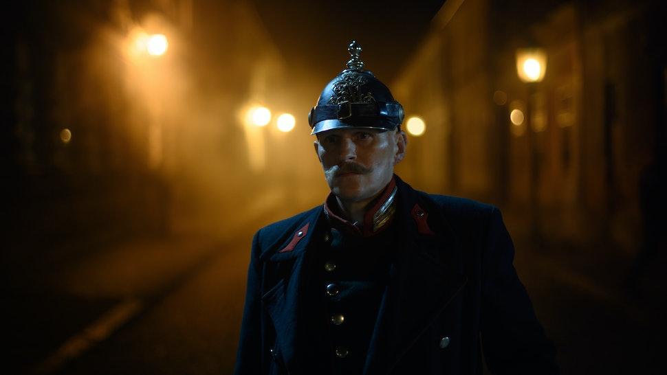 Alfred Kiss (Georg Friedrich) in 'Freud'