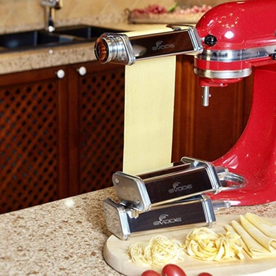 GVODE Pasta Roller And Cutter Attachment Set (3 Pieces)