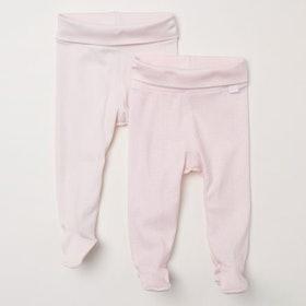 Newborn Pants With Feet — 2 Pack