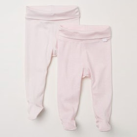 Newborn Pants With Feet — 2 Pack