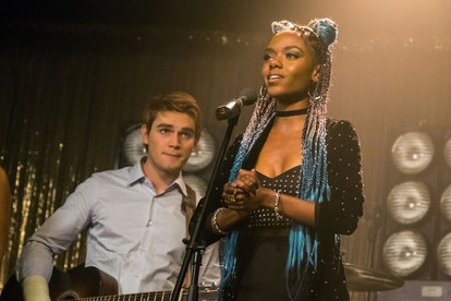 Archie and Josie on 'Riverdale'