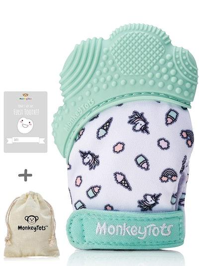 MonkeyTots Teething Mit