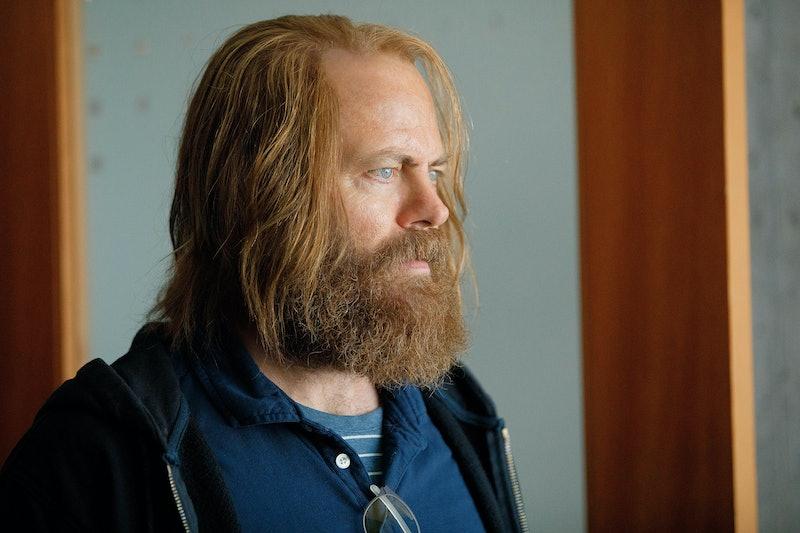 Nick Offerman as Forest in 'Devs.'
